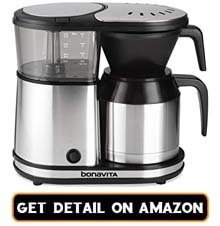 4 cup thermal carafe coffee maker