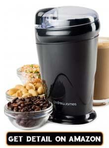 coffee bean grinder and coffee maker