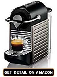 nespresso machines pixie