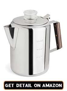 stainless steel espresso maker stovetop