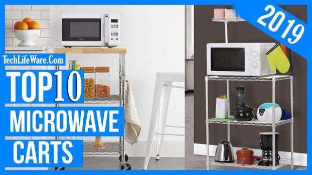 Top 10 Best Microwave Carts Reviews in 2019 – Top Picks