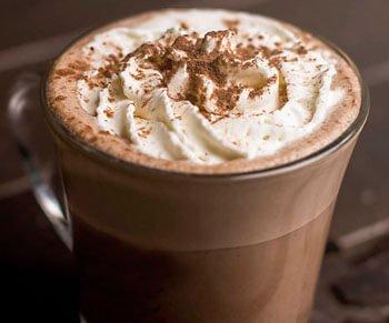 hot chocolate starbucks